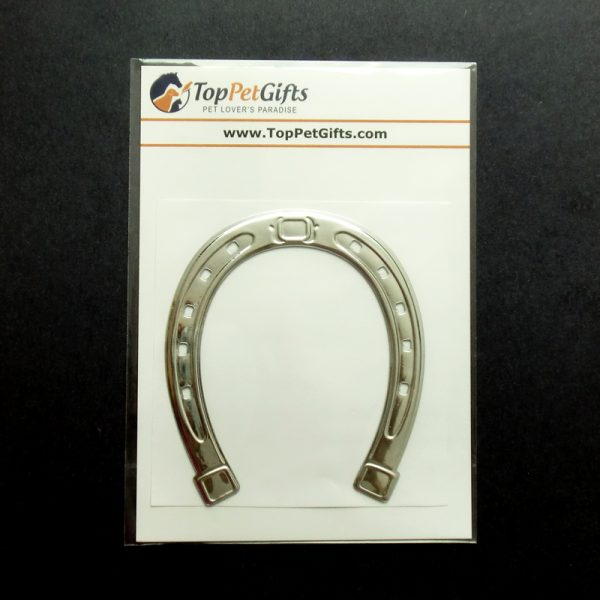 3D Horseshoe Decal Sticker Packaging