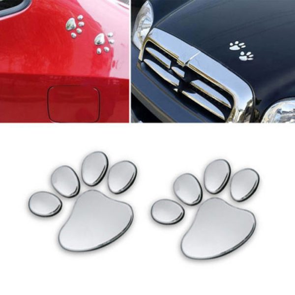 3D Paw Car Sticker