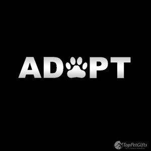 Adopt Paw Decal