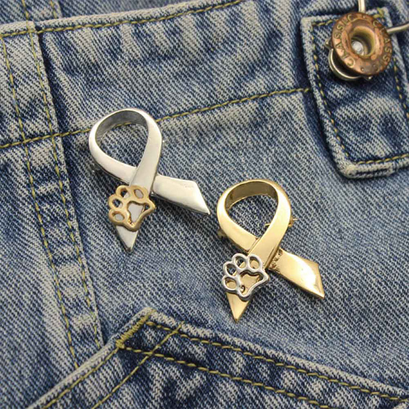Animal Abuse Awareness Pin