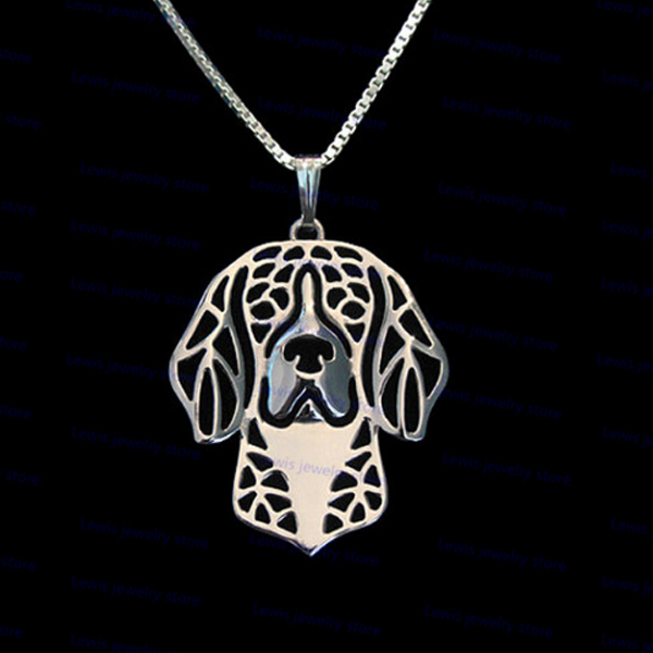 Beagle Boho Cutout Necklace