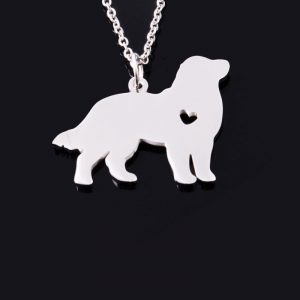 Bernese Mountain Dog Stainless Steel Necklace