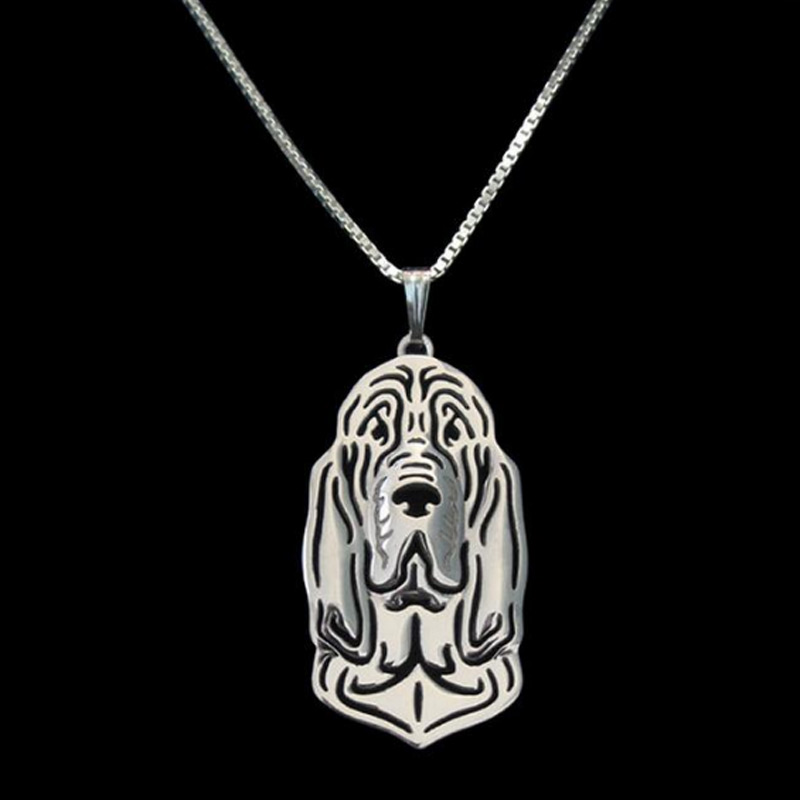 Bloodhound Boho Cutout Necklace