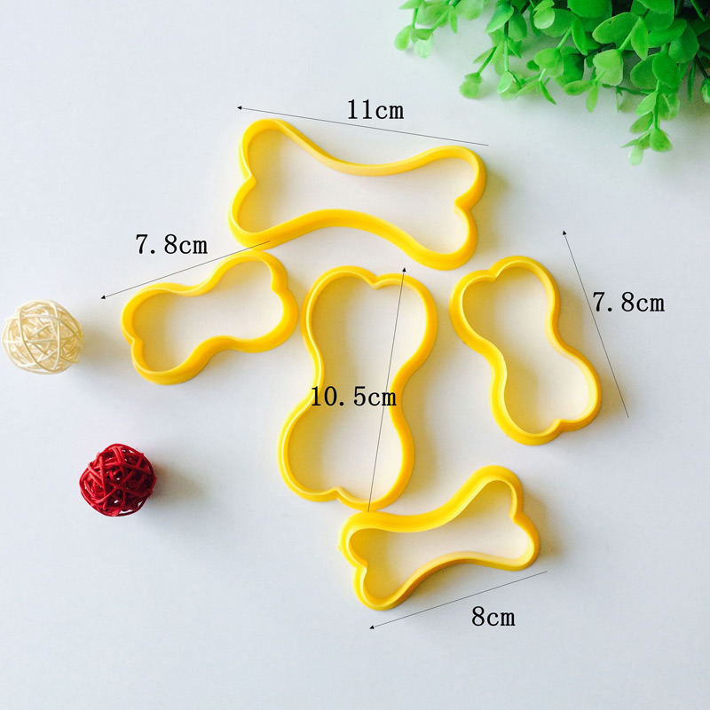 Bone Shape Cookie Cutters