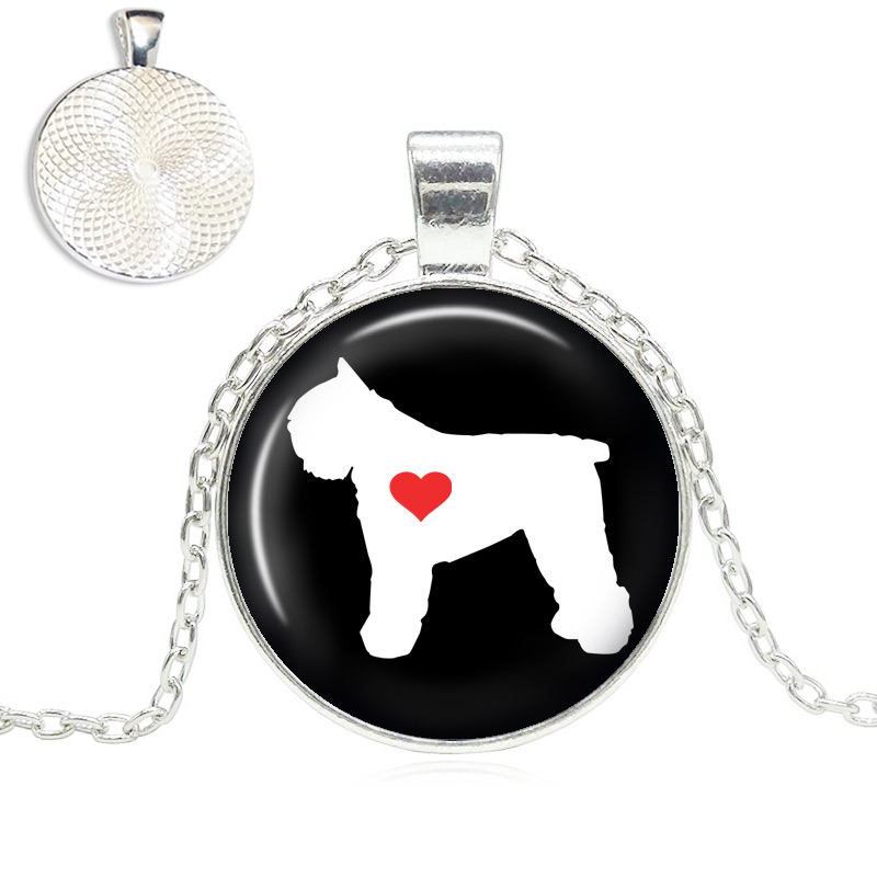 Bouvier Love Glass Dome Necklace
