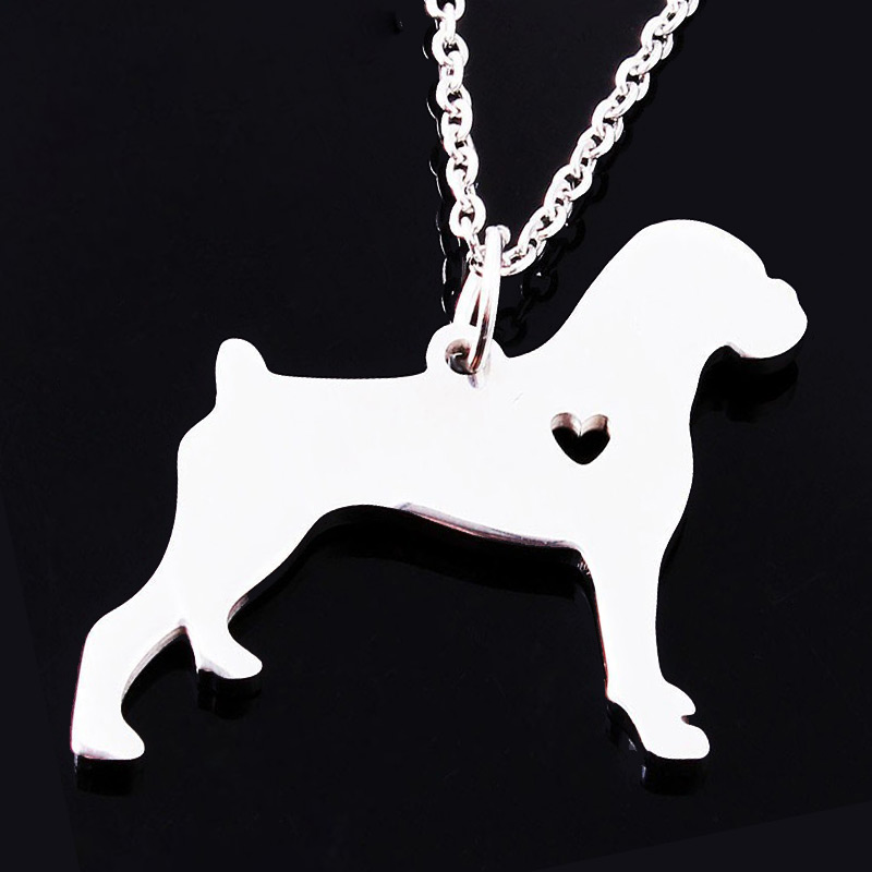 Boxer Stainless Steel Necklace