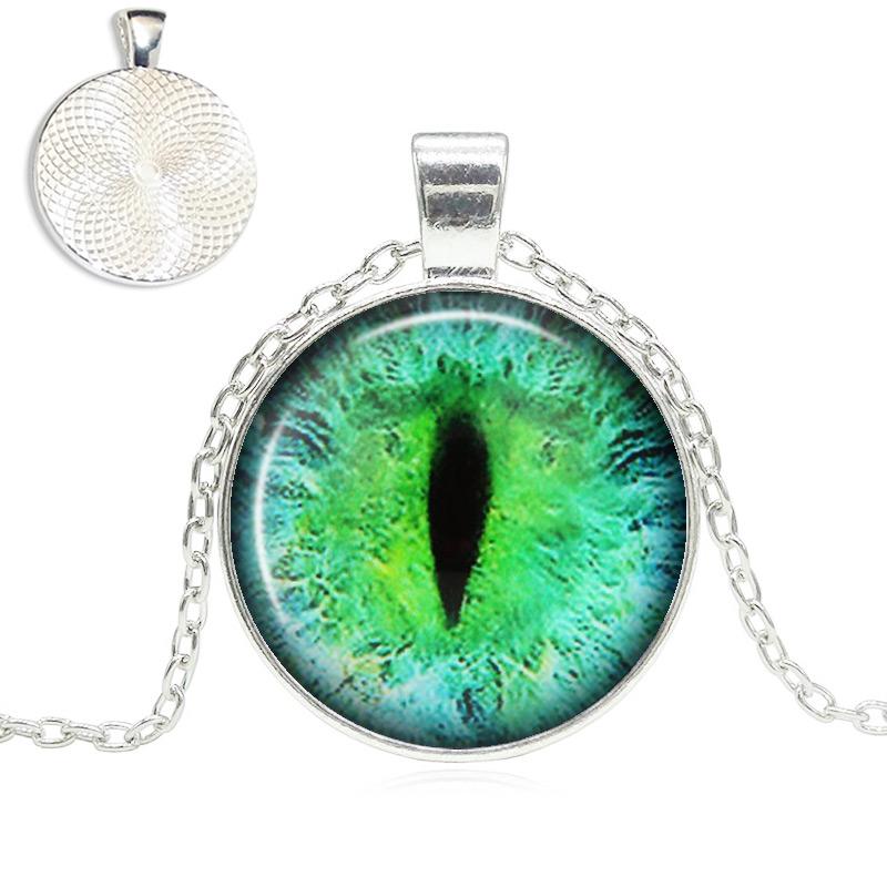 Cat Eye Pendant Necklace