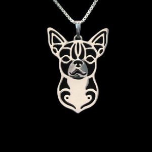 Chihuahua Boho Cutout Necklace