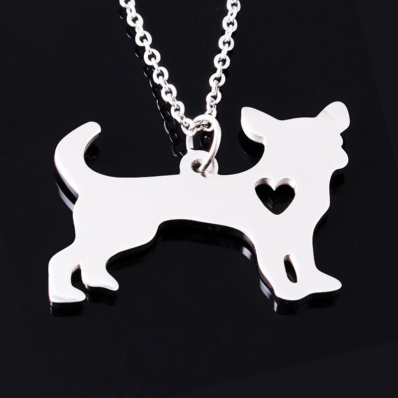 Chihuahua Stainless Steel Necklace