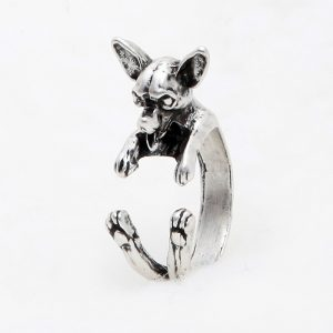 Chihuahua Adjustable Wrap Ring