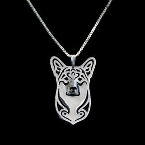 Corgi Boho Cutout Necklace