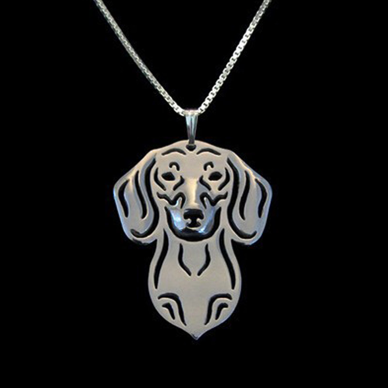 Dachshund Hollow Necklace