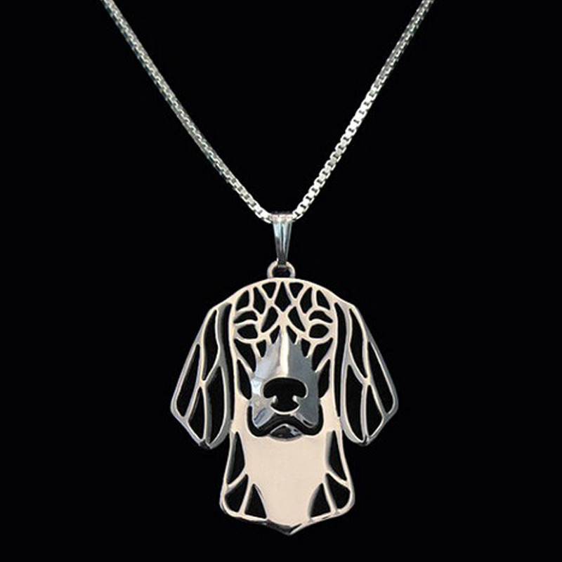 Dachshund Boho Cutout Necklace