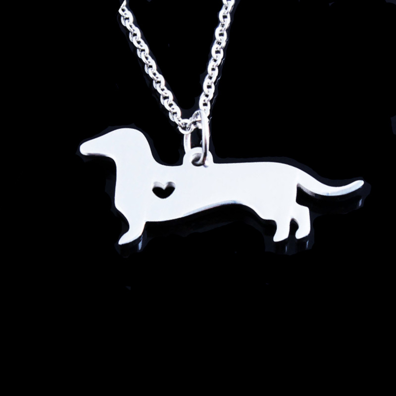 Dachshund Stainless Steel Necklace