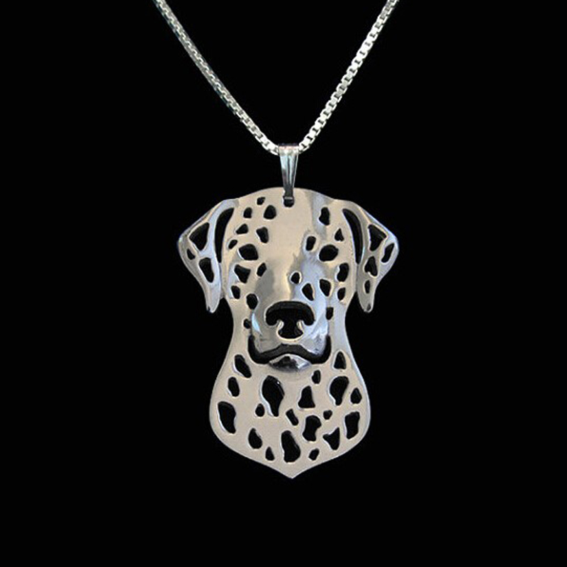 Dalmatian Boho Cutout Necklace