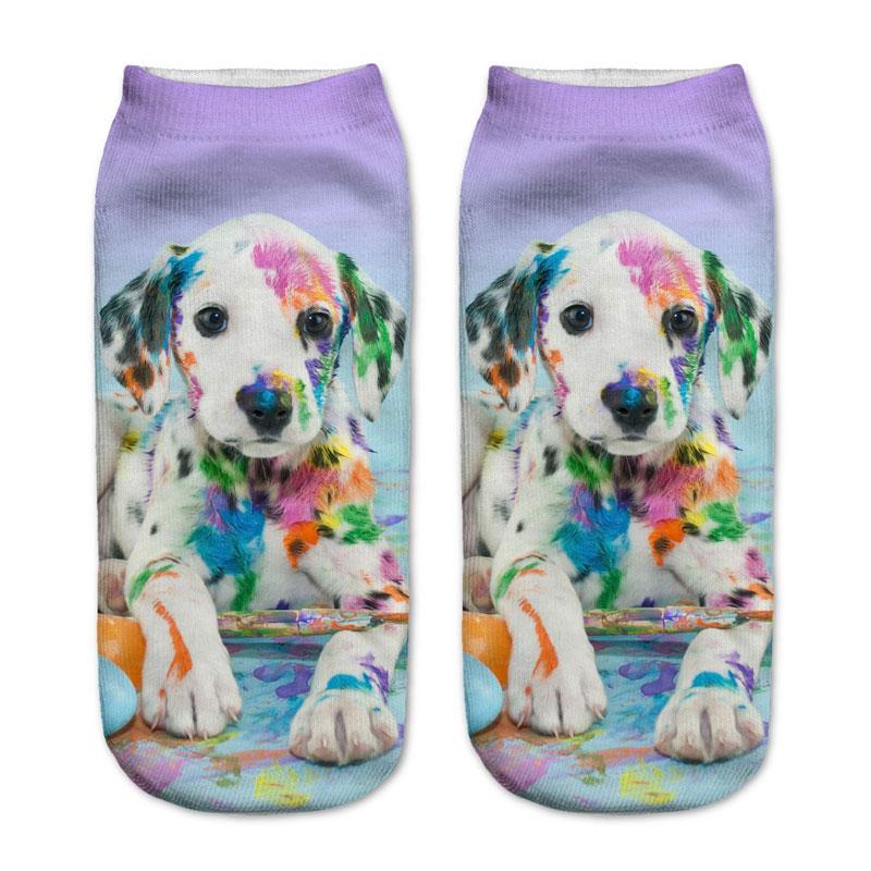 Dalmatian Puppy Socks