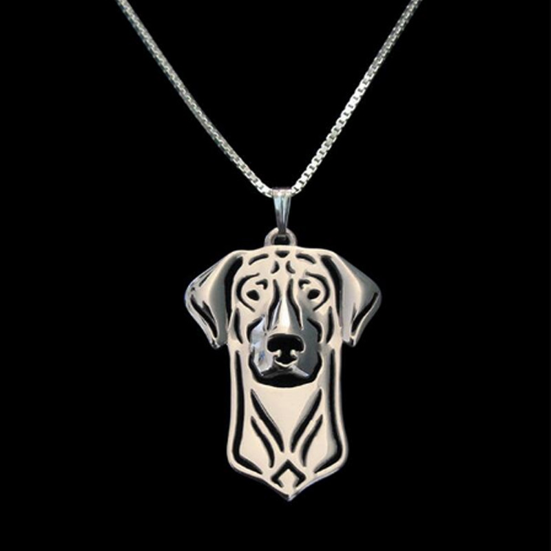 Doberman Hollow Necklace