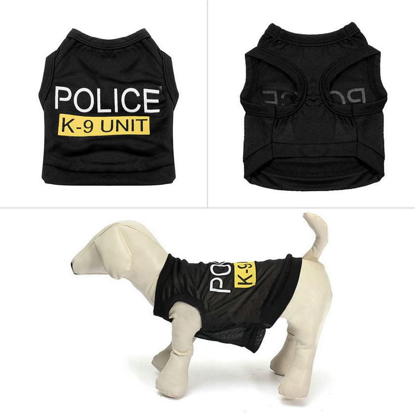 Dog T-Shirt – Police