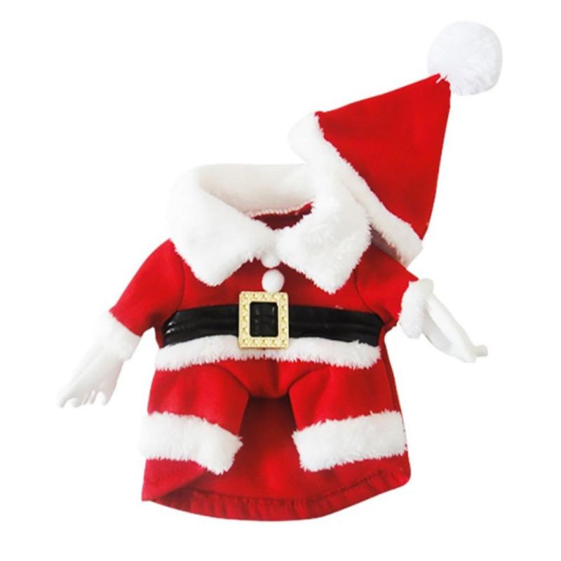 Dog-Costume - Santa-Claus