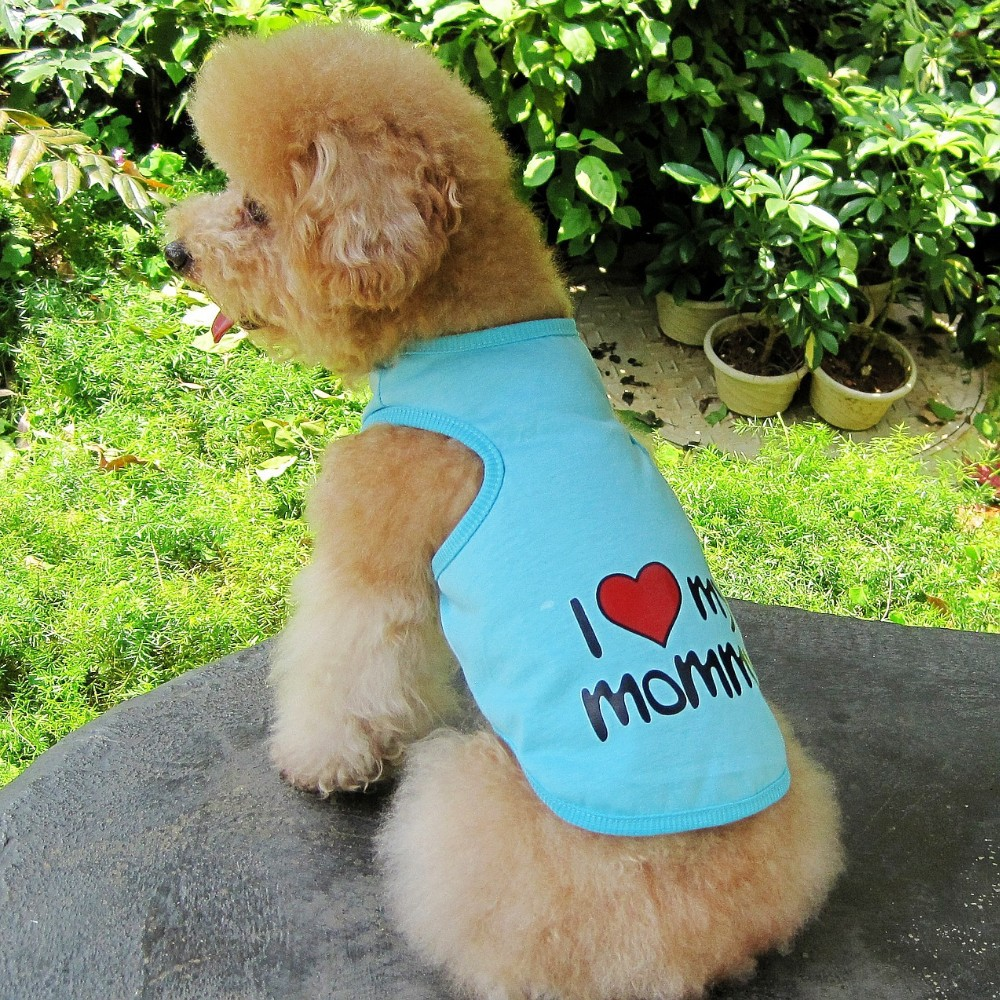 Dog Tshirt I love my mommy