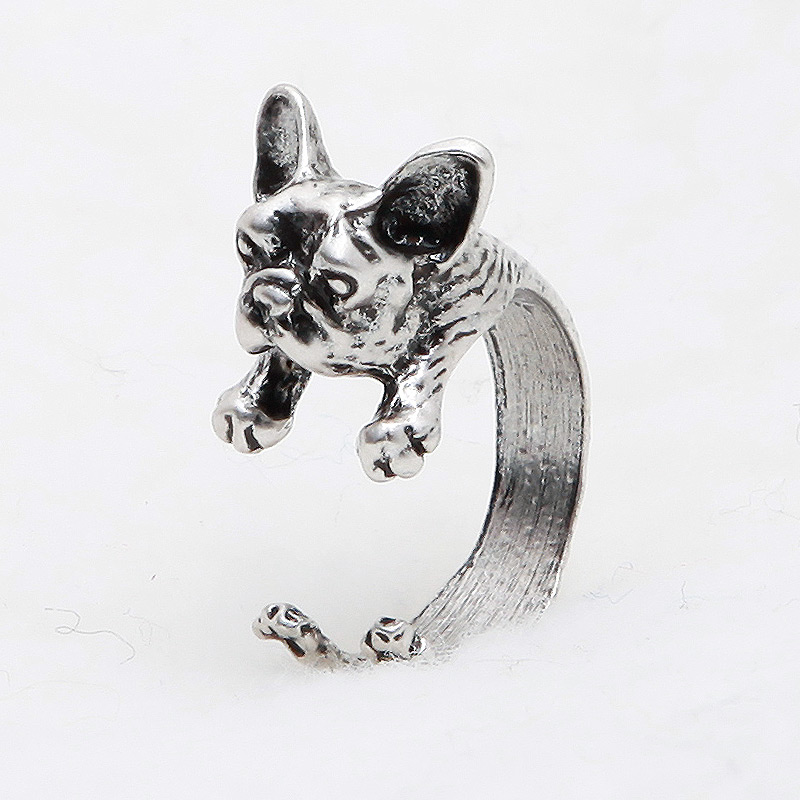 French Bulldog Adjustable Wrap Ring