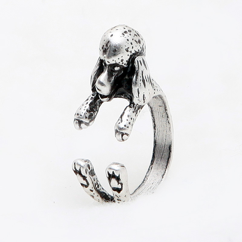 French Poodle wrap ring