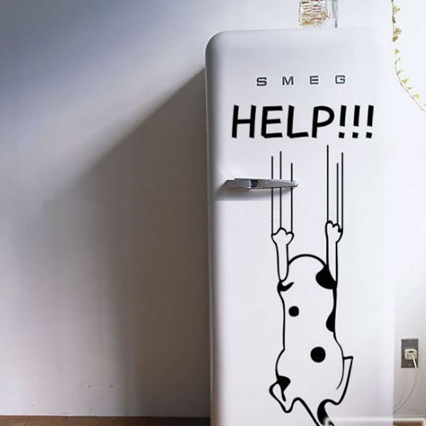 Funny Help Cat Decal