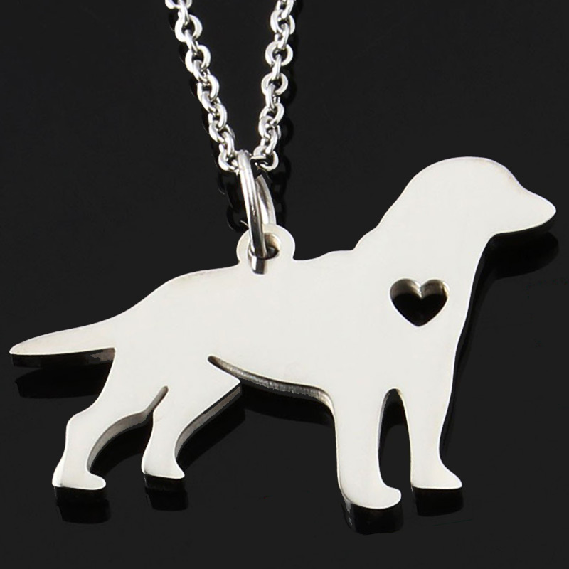 German Shepherd Stainless Steel Necklace