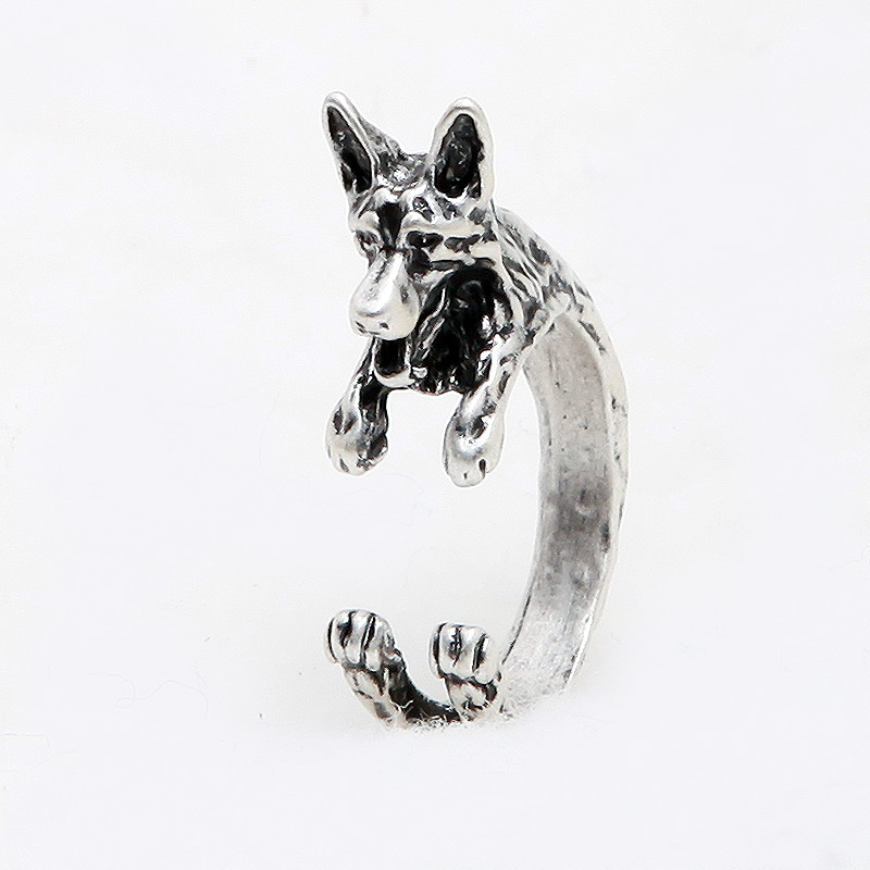 German Shepherd Adjustable Wrap Ring