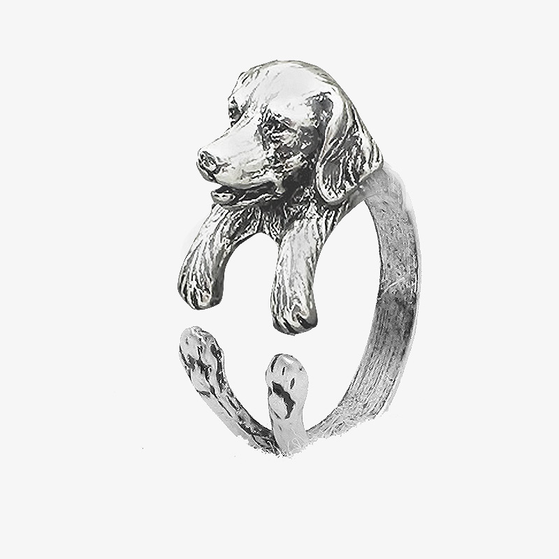 Glden Retriever Wrap Ring