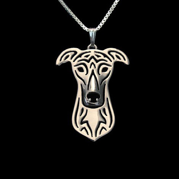 Greyhound Boho Cutout Necklace