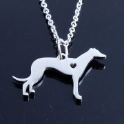 Greyhound Stainless Steel Necklace