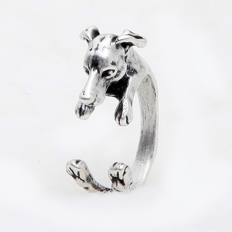 Greyhound Adjustable Wrap Ring