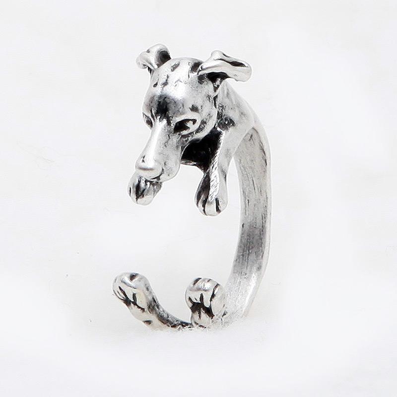 Greyhound Adjustable Wrap Ring