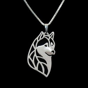 Husky Boho Cutout Necklace