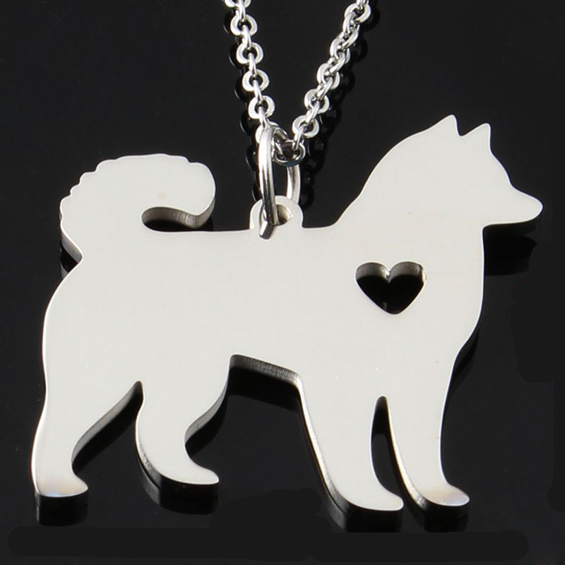Husky Stainless Steel Necklace