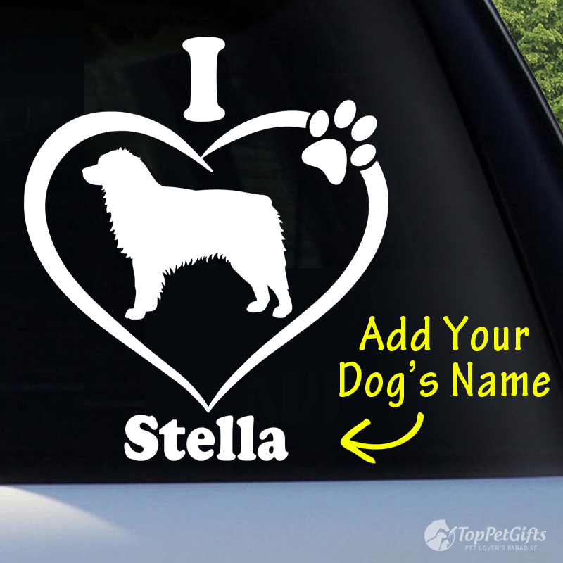 I Love My AUSTRALIAN SHEPHERD Decal
