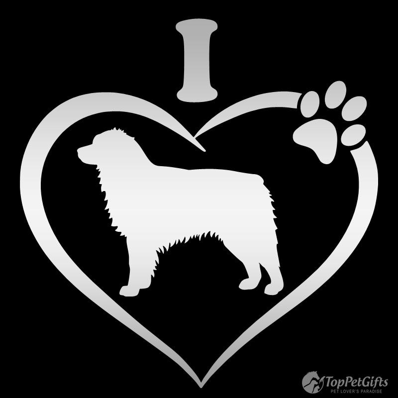 I Love My AUSTRALIAN SHEPHERD Decal