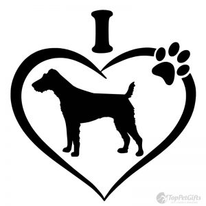 I Love My FOX TERRIER Decal