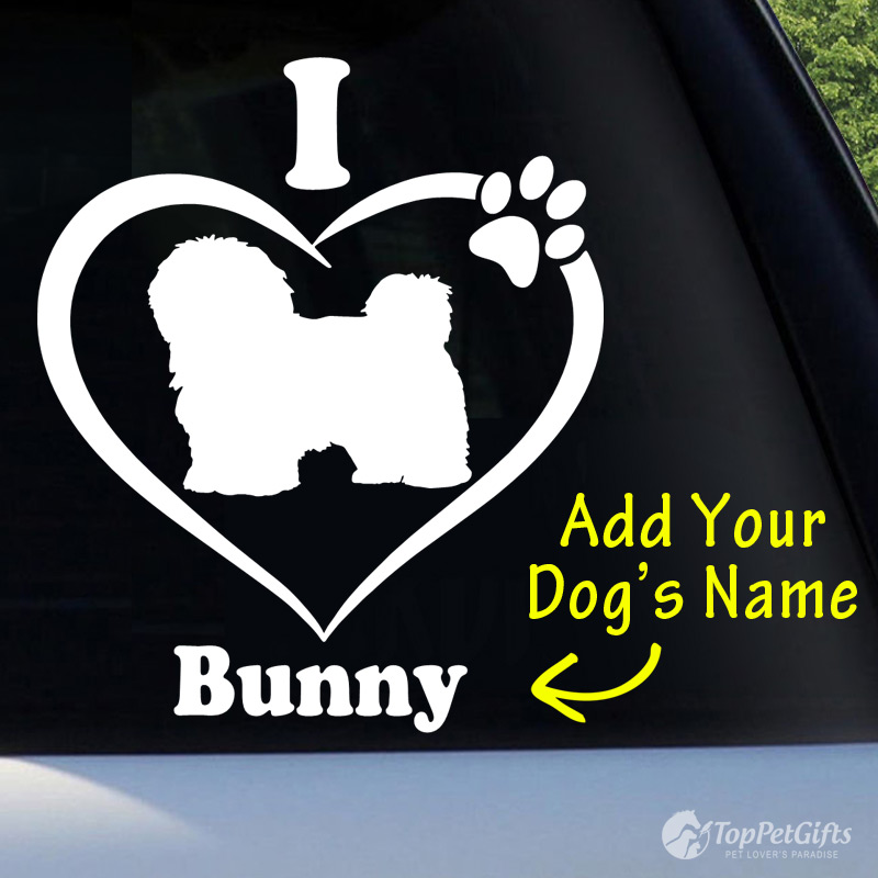 I Love My HAVANESE Decal