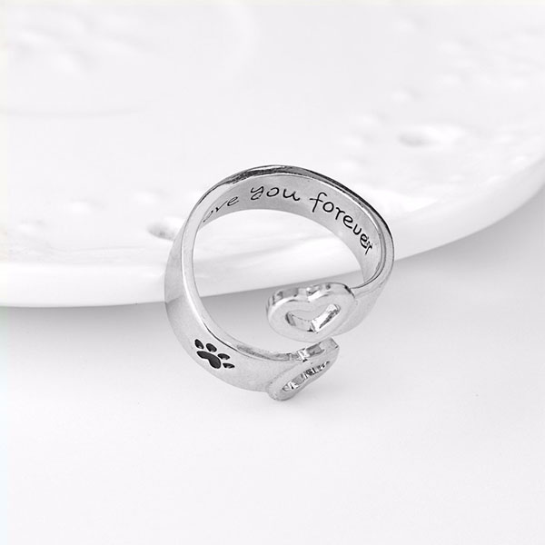 """I Will Love You Forever"" Wrap Ring"
