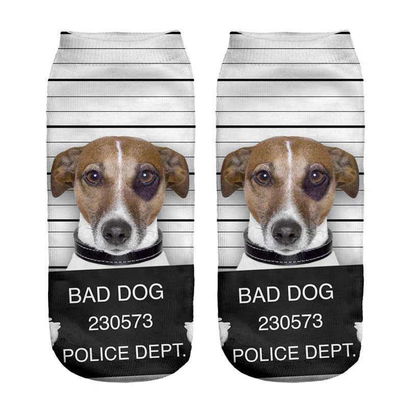 Jack Russel Terrier Socks - Bad Dog