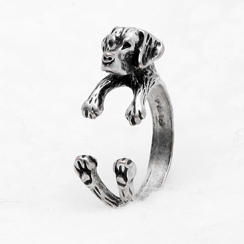 Labrador Retriever Adjustable Wrap Ring