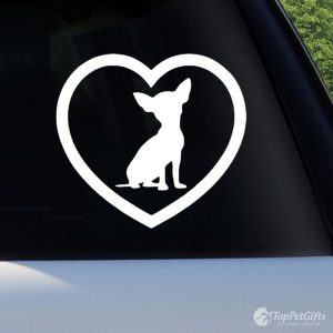 Love My Chihuahua Decal
