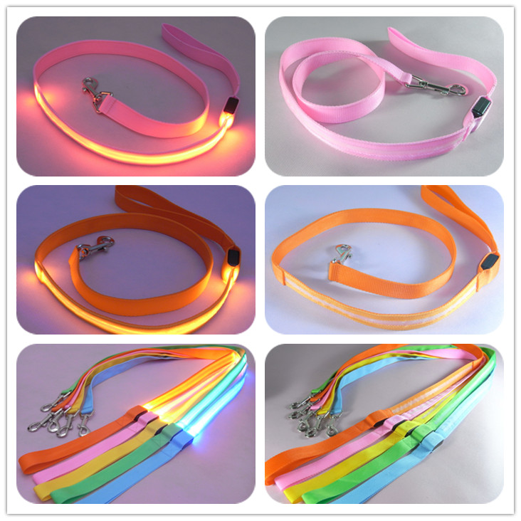 Nylon Pet LED Dog Leash