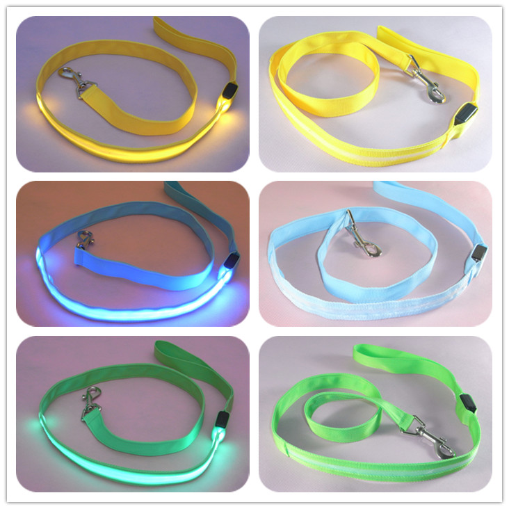Nylon Pet LED Dog Leash