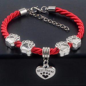 Bestfriend Paw Charm Bracelet