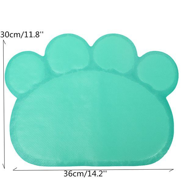 Paw-Shape Placemat