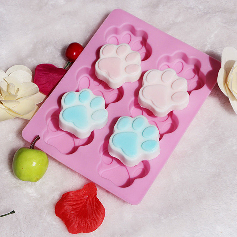 Paw Shape Silicone Mold
