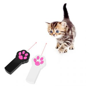 Paw Style Cat Catch LED Light